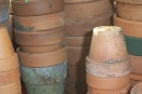 Clay Pots Ready for Reuse